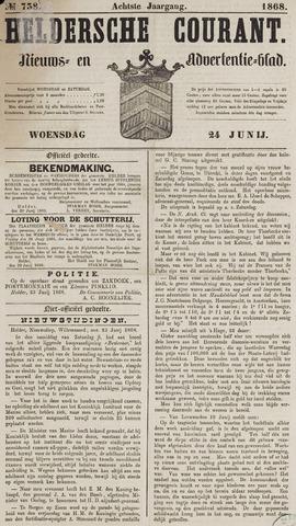 Heldersche Courant 1868-06-24