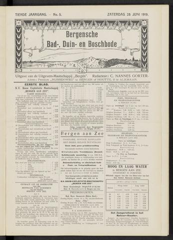 Bergensche bad-, duin- en boschbode 1919-06-28