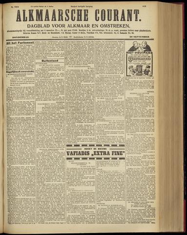 Alkmaarsche Courant 1928-09-20