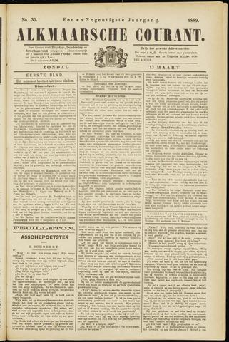 Alkmaarsche Courant 1889-03-17