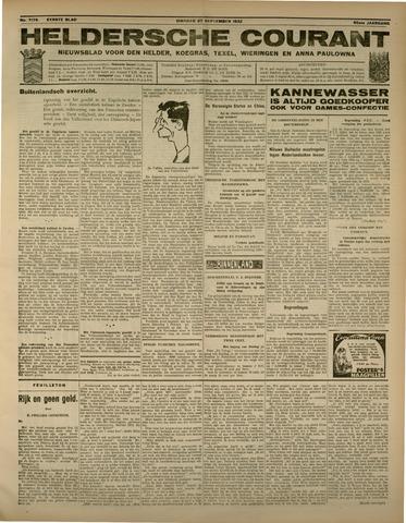 Heldersche Courant 1932-09-27