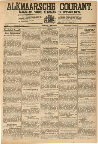 Alkmaarsche Courant 1934-04-07