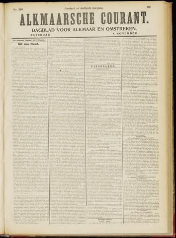 Alkmaarsche Courant 1911-11-04