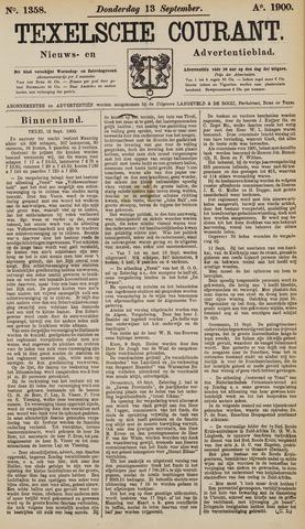 Texelsche Courant 1900-09-13