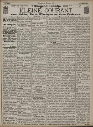 Vliegend blaadje : nieuws- en advertentiebode voor Den Helder 1909-12-15