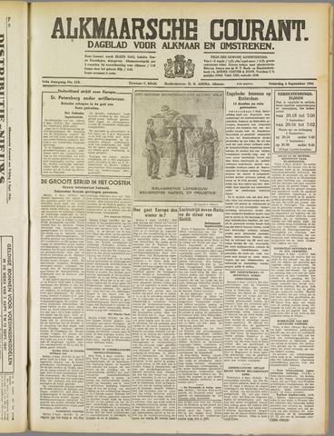 Alkmaarsche Courant 1941-09-06