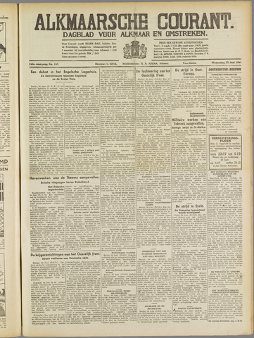 Alkmaarsche Courant 1941-06-25