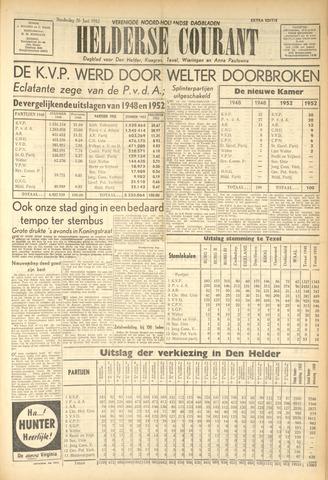 Heldersche Courant 1952-06-26