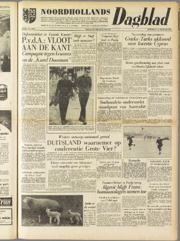 Noordhollands Dagblad : dagblad voor Alkmaar en omgeving 1959-02-12