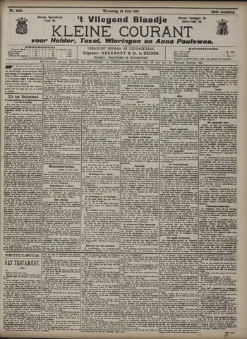 Vliegend blaadje : nieuws- en advertentiebode voor Den Helder 1907-06-26