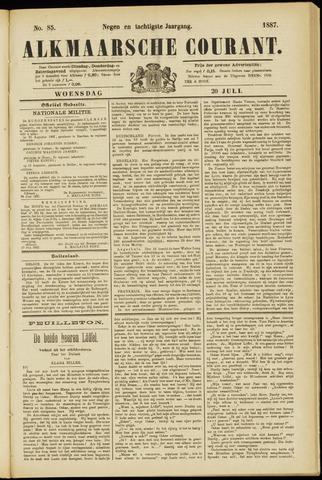 Alkmaarsche Courant 1887-07-20