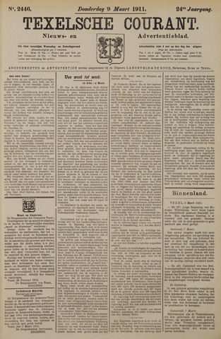 Texelsche Courant 1911-03-09