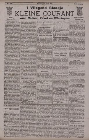 Vliegend blaadje : nieuws- en advertentiebode voor Den Helder 1900-04-11