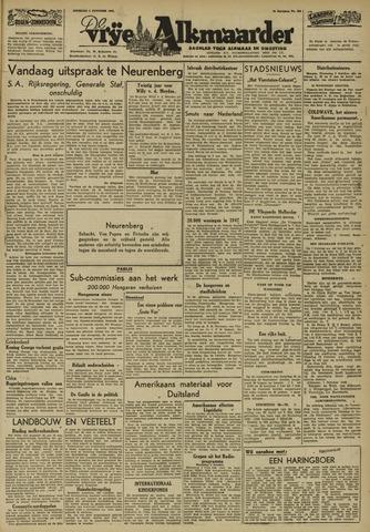 De Vrije Alkmaarder 1946-10-01