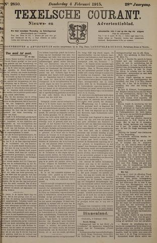 Texelsche Courant 1915-02-04