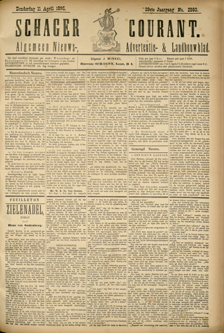 Schager Courant 1895-04-11