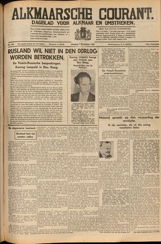 Alkmaarsche Courant 1939-11-07