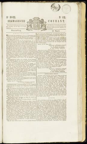 Alkmaarsche Courant 1842-03-21