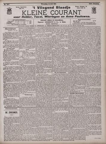 Vliegend blaadje : nieuws- en advertentiebode voor Den Helder 1904-07-13