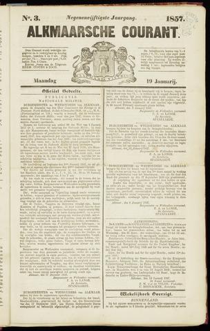 Alkmaarsche Courant 1857-01-19