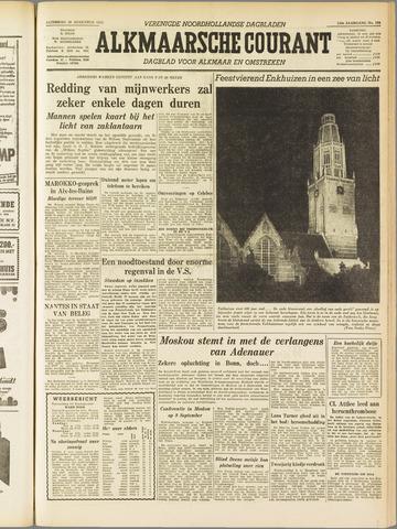 Alkmaarsche Courant 1955-08-20