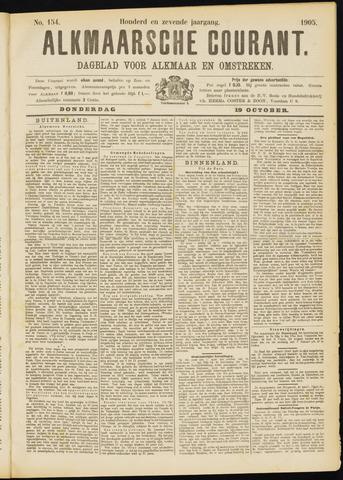 Alkmaarsche Courant 1905-10-19
