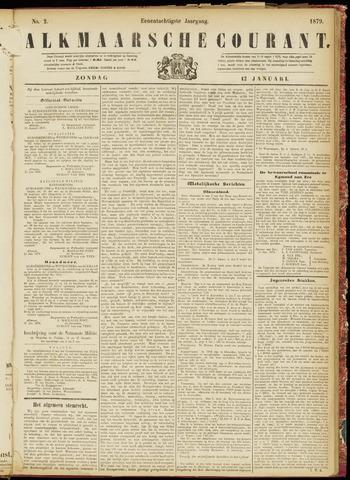 Alkmaarsche Courant 1879-01-12