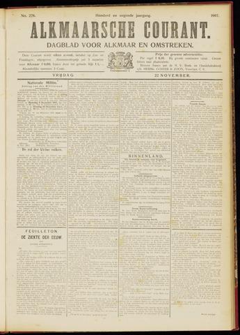Alkmaarsche Courant 1907-11-22