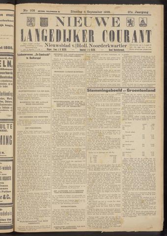 Nieuwe Langedijker Courant 1928-09-04