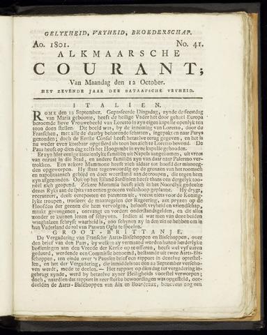 Alkmaarsche Courant 1801-10-12