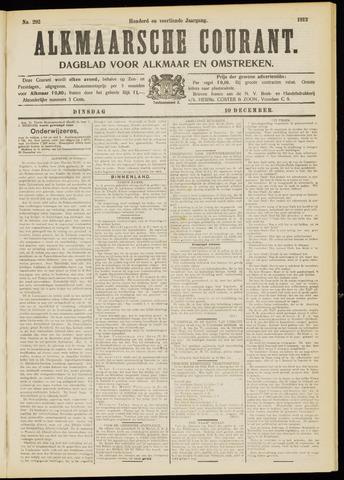 Alkmaarsche Courant 1912-12-10
