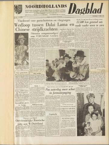Noordhollands Dagblad : dagblad voor Alkmaar en omgeving 1959-04-01