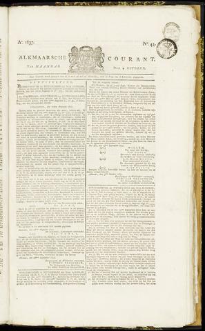 Alkmaarsche Courant 1837-10-09