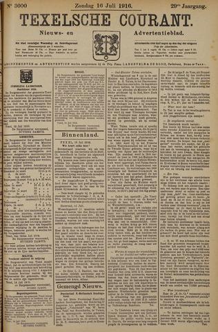 Texelsche Courant 1916-07-16