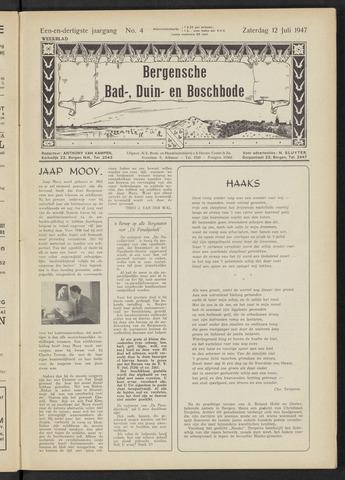 Bergensche bad-, duin- en boschbode 1947-07-12