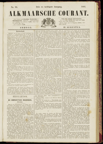Alkmaarsche Courant 1881-08-19