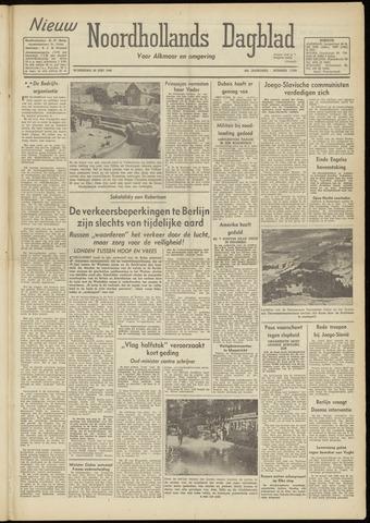 Nieuw Noordhollandsch Dagblad : voor Alkmaar en omgeving 1948-06-30