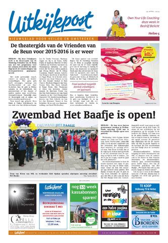 Uitkijkpost : nieuwsblad voor Heiloo e.o. 2015-04-29