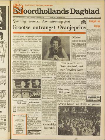 Noordhollands Dagblad : dagblad voor Alkmaar en omgeving 1967-04-28