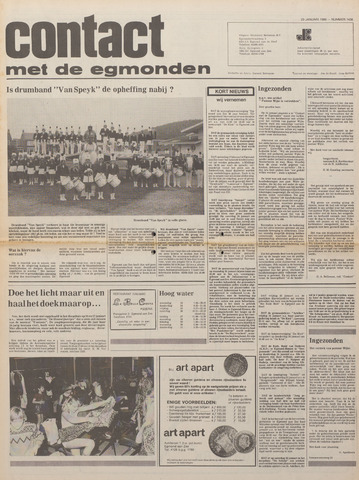 Contact met de Egmonden 1980-01-23