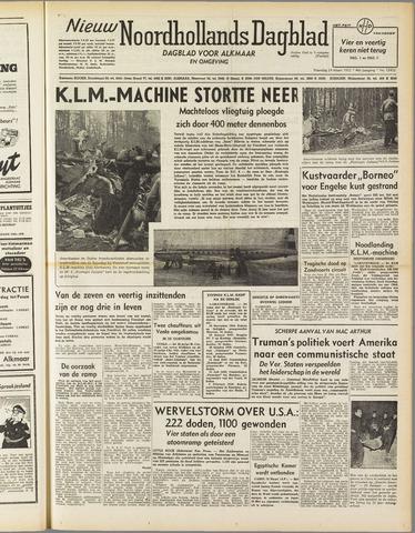 Nieuw Noordhollandsch Dagblad : voor Alkmaar en omgeving 1952-03-24