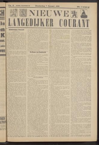 Nieuwe Langedijker Courant 1926-01-07