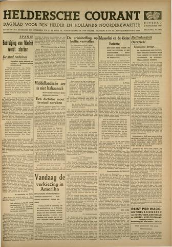 Heldersche Courant 1936-11-03
