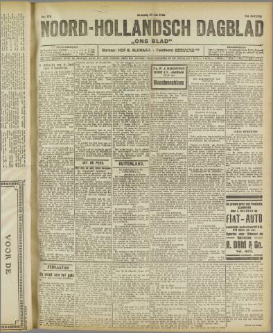 Ons Blad : katholiek nieuwsblad voor N-H 1922-07-22