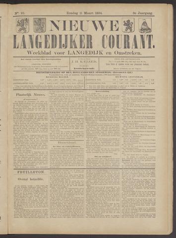 Nieuwe Langedijker Courant 1894-03-11