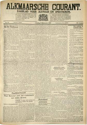 Alkmaarsche Courant 1933-09-08