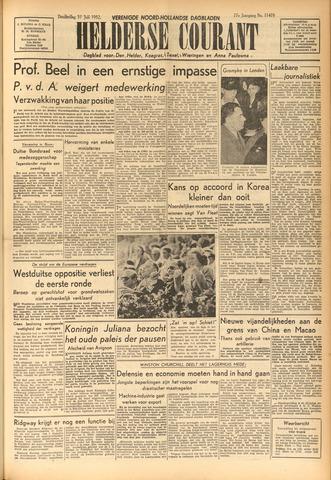 Heldersche Courant 1952-07-31