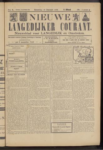 Nieuwe Langedijker Courant 1924-01-19