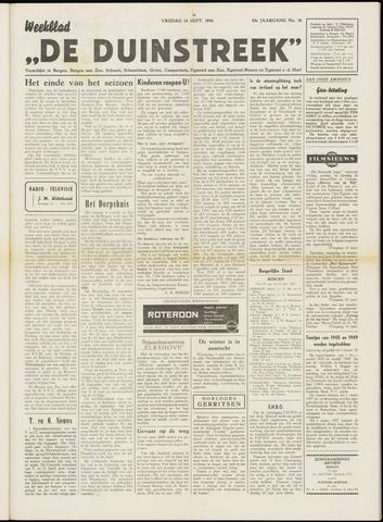 De Duinstreek 1956-09-14