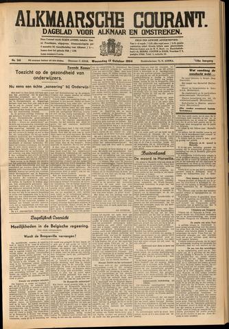 Alkmaarsche Courant 1934-10-17